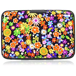 AKORD Credit Card or ID Case / Wallet , 11cm, Aluminium, Multicolour