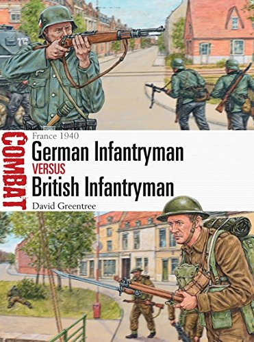 German Infantryman vs British Infantryman: France 1940 (Combat) por David Greentree