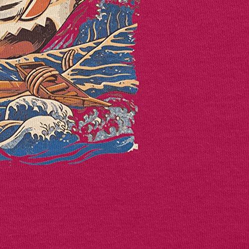 NERDO - The Great Ramen - Damen Kapuzenpullover Fuchsia