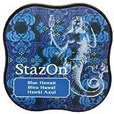 Tsukineko Stazon Stempelkissen, Hawaii blau, mittel