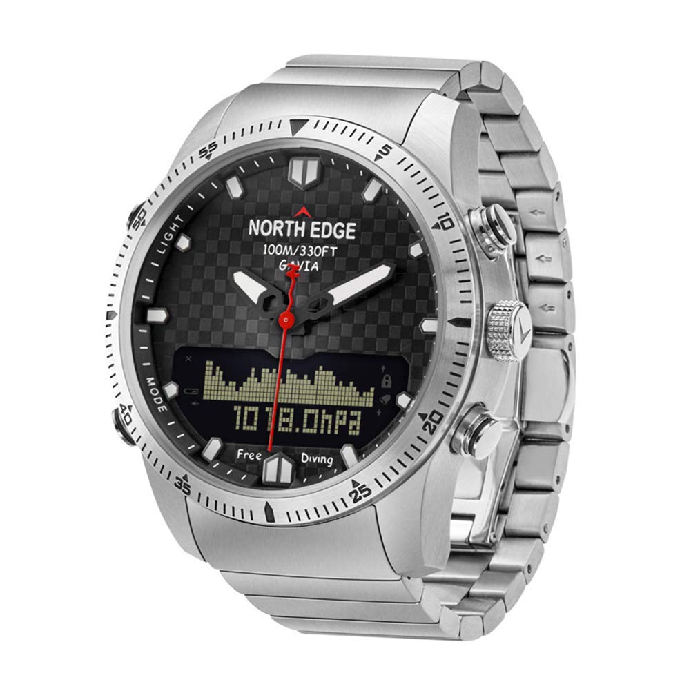 14c7760ed6d6 OOLIFENG Buceo Relojes Hombres