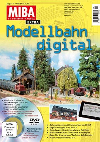 Modellbahn digital 15 mit DVD - MIBA Extra 2014
