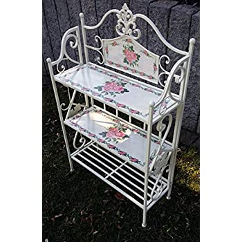 gartenregal blumenregal blumentreppe pflanzentreppe pflanzenregal blumenbank regal. Black Bedroom Furniture Sets. Home Design Ideas