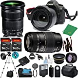 Canon EOS 5D Mark III mit 24–105 mm is STM + TAMRON 70–300 mm AF + 2 16 GB Memory + Case + Reader + Stativ + zeetech Starter Set + Weitwinkel + Teleobjektiv + Flash + Filter