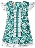 Ufo Girls' Shirt (SS15-WF-GK-015_Green_2 - 3 years)