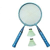 Xcube Badminton Racket for Kids - Baby Badminton Aluminium Toy Set for Children with Multicolour Shuttlecocks and…