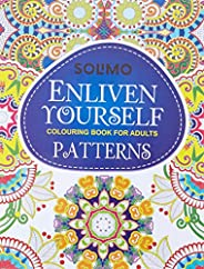 Amazon Brand - Solimo Enliven Yourself Colouring Book for Adults - Patterns