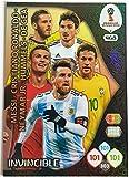 Carta collezionabile Adrenalyn XL FIFA World Cup 2018, cartaInvincible–Ronaldo, Messi, Neymar, ecc.