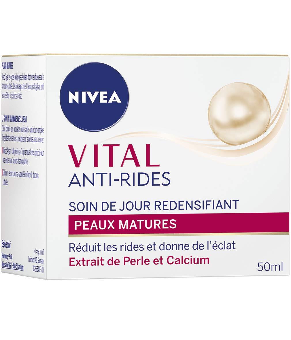 Nivea Vital antiarrugas cuidado de día redensifiant pieles matures 50ml