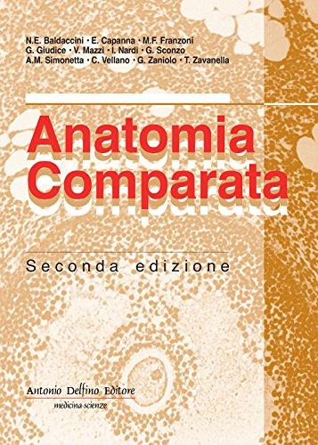 Anatomia comparata por Natale E. Baldaccini
