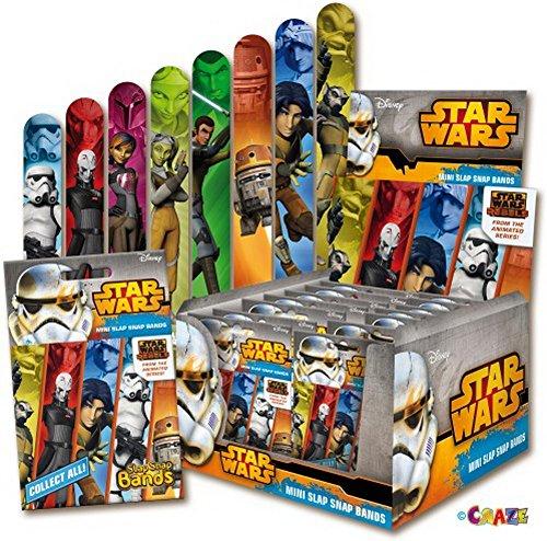 Star Wars Rebels - Slap-Snap-Bands - Mini, 24 Stück -
