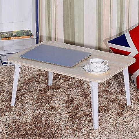 XXTT-Escritorio del ordenador portátil de simple fruto color, cama con mesa plegable impermeable ,