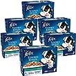 FELIX Tendres Effil�s en Gel�e Poissons - 12x100 g - pour chat adulte - Lot de 6