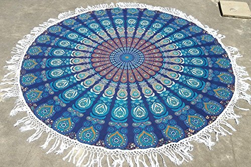 blue-color-decorative-indian-round-roundie-tapestry-throw-indian-mandala-round-tapestry-hippie-beach