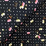 Swafing GmbH - Stoff - Jersey Schmetterlinge auf Punkte
