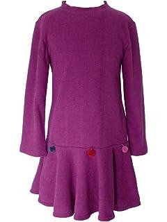 38f03394b048b Trocadero - Mode für Kinder - Robe - Manches Longues - Fille  Amazon ...