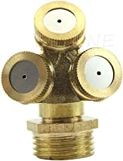 3 Hole Brass nozzle for agriculture spray