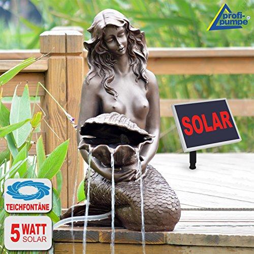 Fontana solare da giardino