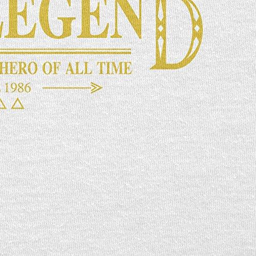 TEXLAB - The Legend - Herren T-Shirt Weiß