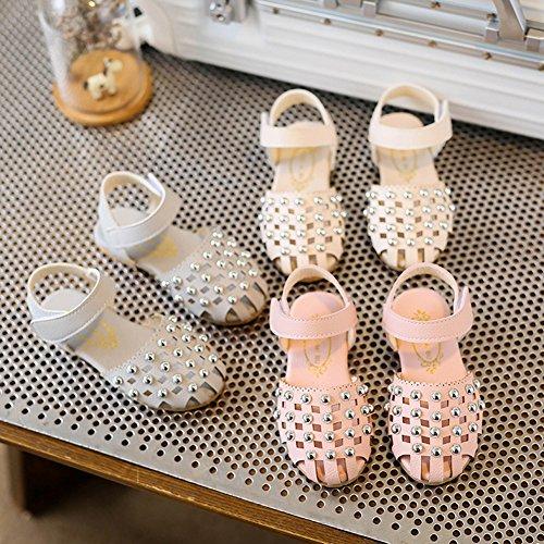 Scothen Chaussures filles princesse creuse étudiants mariage de sandales décoratives chaussures en cuir danse chaussures princesse papillon enfants boucle partie luisants cheville Bottes ventes Bleu