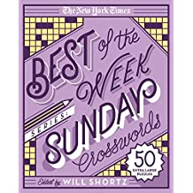 The New York Times Best of Sunday Crosswords: 50 Extra Large Puzzles