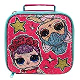 LOL Surprise 13971347 Portapranzo Termico, Paillettes, Reversibile, 30 Centimetri