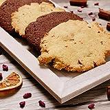16 handgemachte glutenfreie und laktosefreie Kekse von 365forlife, Mix aus Schoko und Zitrone, vegane Cookies ohne Farbstoffe, ohne Konservierungsmittel