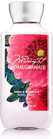 Bath & Body Works Midnight Pomegranate 8 Fl Oz Body Lotion with Shea & Vitamin E