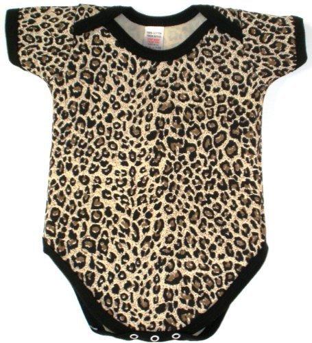 Collar de deslizamiento BabywearUK Body chaleco de pesca con de piel de leopardo