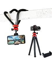 ProQ™ Gorilla Tripod   Mini Flexible Octopus Tripod   Free Mobile Holder   Heavy Duty Gorillapod - for Mobile Phone, DSLR Camera & GoPro