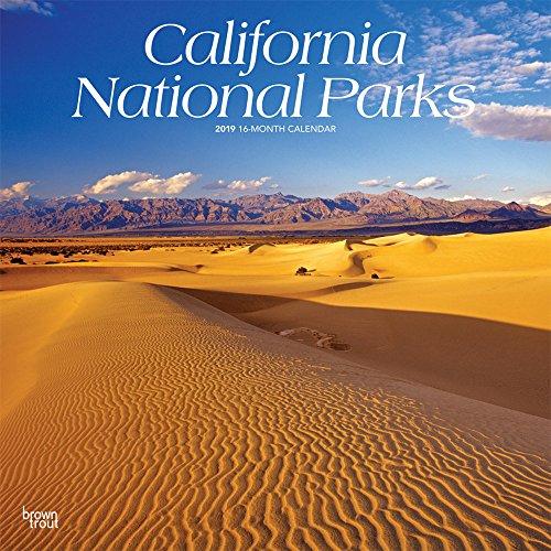 California National Parks - Kalifornische National Parks 2019 - 18-Monatskalender mit freier TravelDays-App: Original BrownTrout-Kalender por Browntrout Publishers