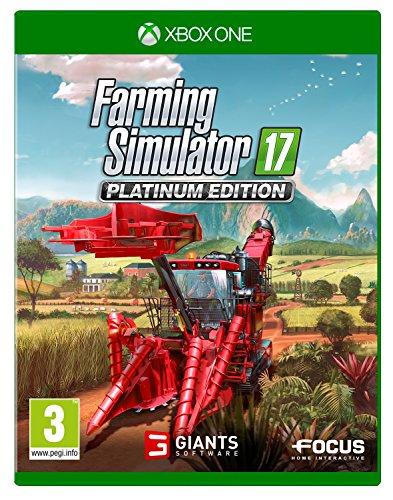 Farming Simulator 17 Platinum Edition (Xbox One) - Simulator X-box Farming
