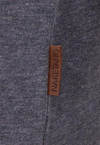 Naketano Male Sweatshirt Italienischer Hengst Langen Scarface Melange