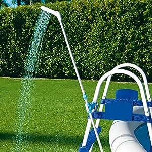 Douche de piscine jardin for Piscine amazone