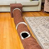 Interaktives Katzentunnel-Spielzeug – Bestens geeignet für verspielte Katzen und Katzenbabys - 4