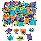 Elfen und Zwerge 108 Monster Sticker Monsterparty / 4 Bögen Kindergeburtstag Mitgebsel Basteln