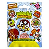 Picture Of Moshi Monsters Moshlings Figures Series 4 Foil / Blind Bag (contains 2 moshlings)