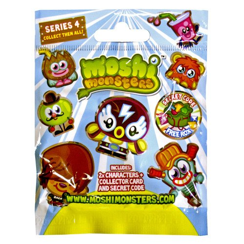 Moshi Monsters 2 Moshling Foil Pack - Serie 4 [UK Import]