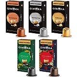 Gimoka - Capsule in Alluminio, Compatibili Nespresso, Assortimento di Miscele e Aromi - 100 Capsule