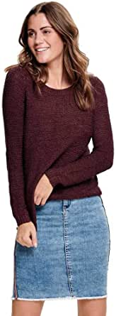 ONLY Damen ONLGEENA XO L/S KNT NOOS Pullover