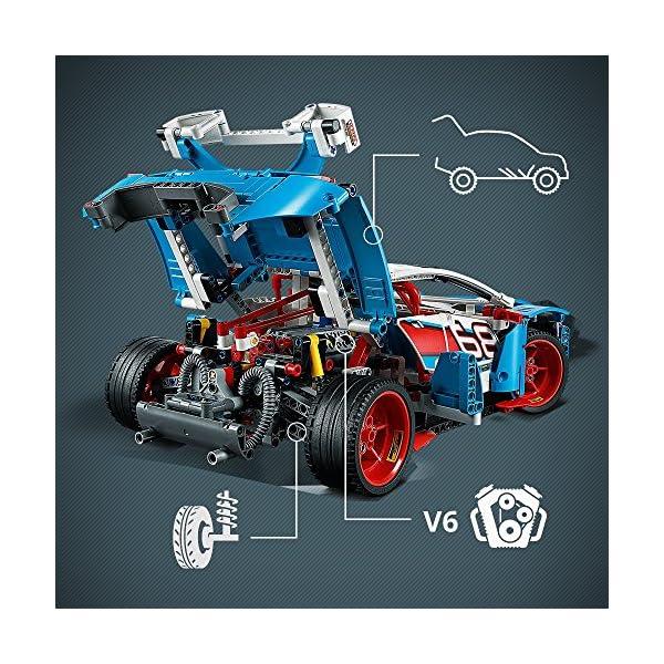 LEGO- Technic Auto da Rally, Multicolore, 42077 3 spesavip