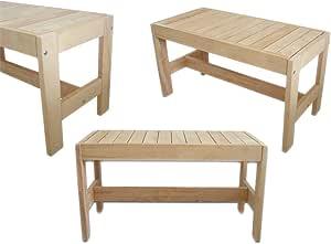 80x35x40 cm Sauna bench pine gr IV