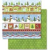 """Ursus de recortes de papel con diseño de """"Navidad"""" 703100155 de brillo de pantalla"""