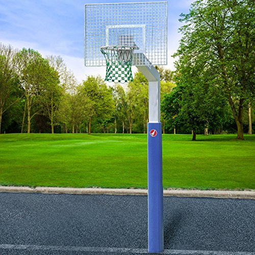 Sport-Thieme® Basketballanlage Fair Play Silent, Korb Outdoor abklappbar, 180x105 cm