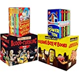 Horrible Collection 60 Books Collection Pack Set RRP: £189.80 (Horrible Geography 10 books Set, Murderous Maths 10 books Box, Horrible Histories: Blood-Curdling Box 20 Books Set, Horrible Science Bulging Box of Books 20)