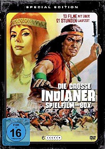 Die große Indianer Spielfilm-Box [6 DVDs] Standard Dvd-box