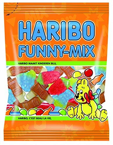 10x HARIBO Funny-Mix Helal Halal Gummibärchen Weingummi Fruchtgummi 75g