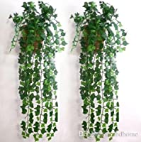 Made from best quality polyester fabrics to your surroundings to bring change and dynamism to the environment. So, get these beautiful flowers and give your Home,Hotels,Office a welcoming ambiance. These beautiful and ethnic artificial leaves garland...