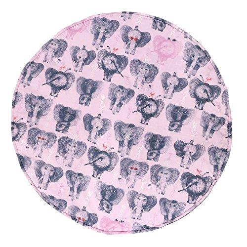 Manta de juegos para bebes XXL grande para gatear acolchada gimnasio suelo actividades alfombra Pink Eli