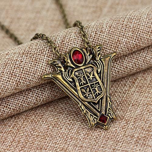 Halskette Zeitlose Klassische Twilight Saga Eclipse Halskette Anhänger New Moon Volturi Wappen Schmuck Frauen Geschenk